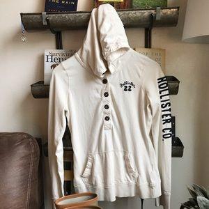 Hollister lightweight hoodie